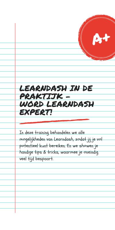 Learndash in de praktijk